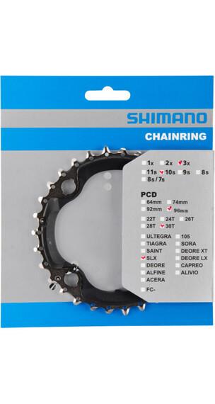 Shimano SLX FC-M672/FC-M622 Kettenblatt AN 96 mm schwarz